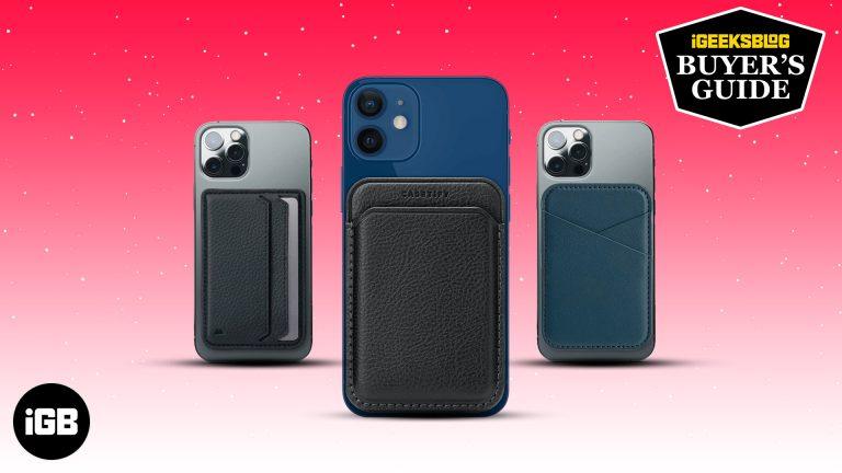Лучшие кошельки MagSafe для iPhone в 2021 году