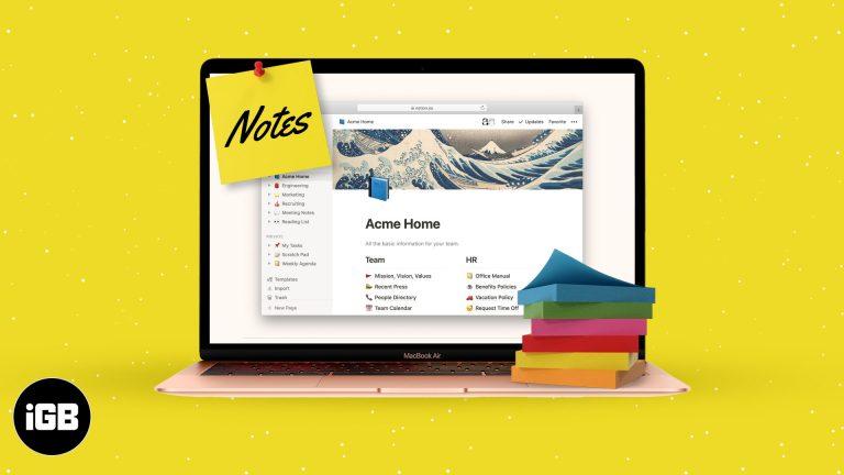 Лучшие приложения Note для Mac в 2021 году