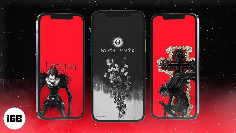 15 iPhone обоев Тетрадь смерти в 2021 году (скачать бесплатно в HD)