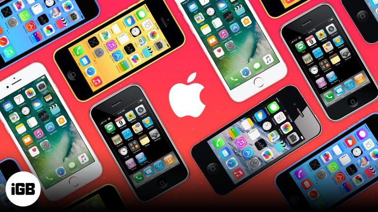 Инфографика: Как долго Apple поддерживает iPhone?