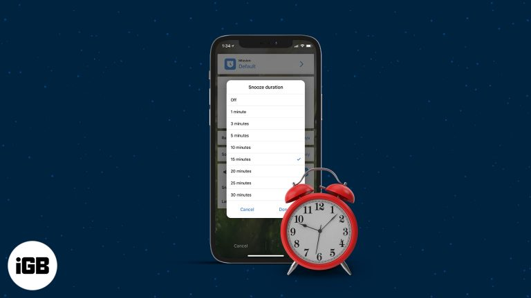 Как изменить время откладывания сигнала на iPhone (2 обходных пути)