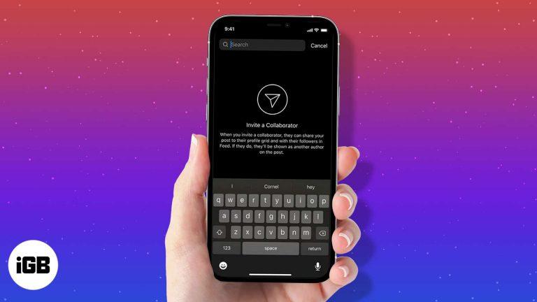 Как использовать функцию Collab в Instagram на iPhone и Android