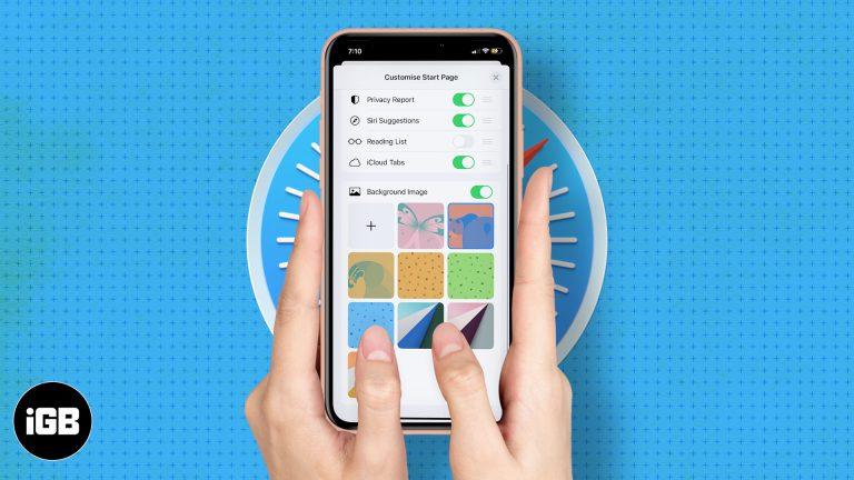 iOS 15: Как настроить стартовую страницу в Safari на iPhone и iPad