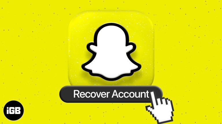 Как восстановить аккаунт Snapchat на iPhone и Android в 2021 году