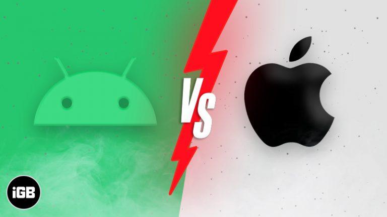 iPhone против Android: что купить?