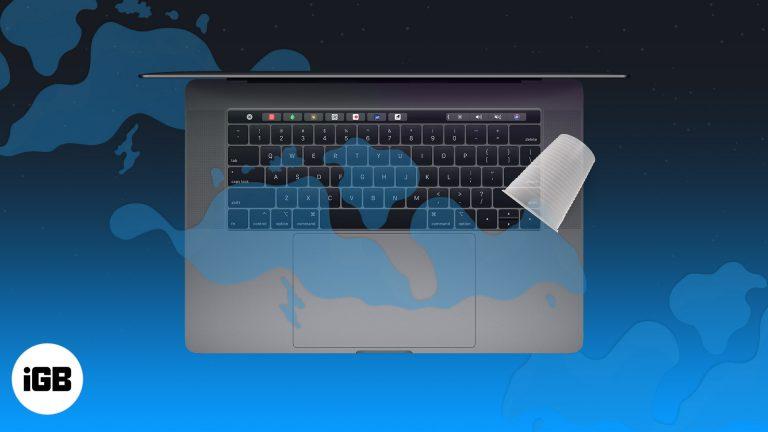 Разлили воду на MacBook?  Вот что теперь делать!