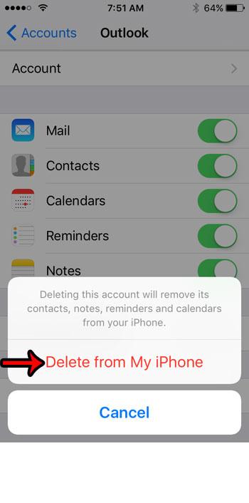 Apple iPhone SE – Как удалить учетную запись электронной почты