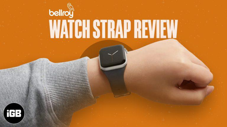 Обзор кожаного ремешка Bellroy для Apple Watch: стиль и комфорт вместе