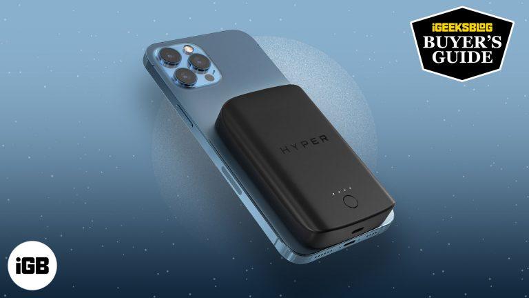 Лучшие альтернативы аккумуляторной батареи Apple MagSafe для iPhone 12 серии в 2021 году
