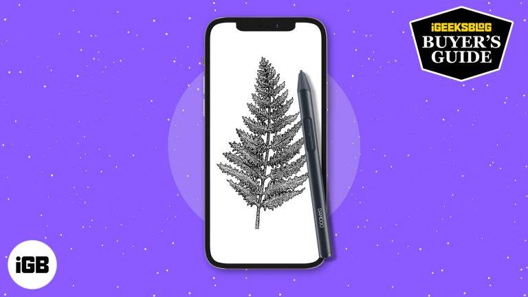 Лучший стилус для iPhone, чтобы нарисовать и раскрасить ваше сердце в 2021 году