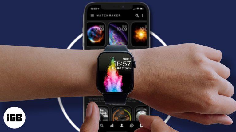 7 лучших приложений для циферблатов Apple Watch в 2021 году