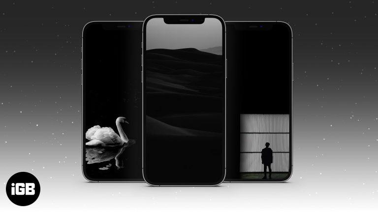 17 красивых черных обоев для iPhone (Скачать бесплатно)