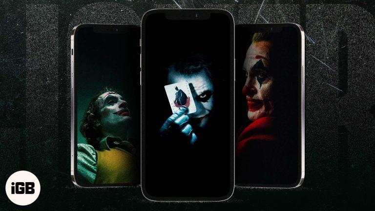 14 бесплатных обоев с Джокером для iPhone в 2021 году