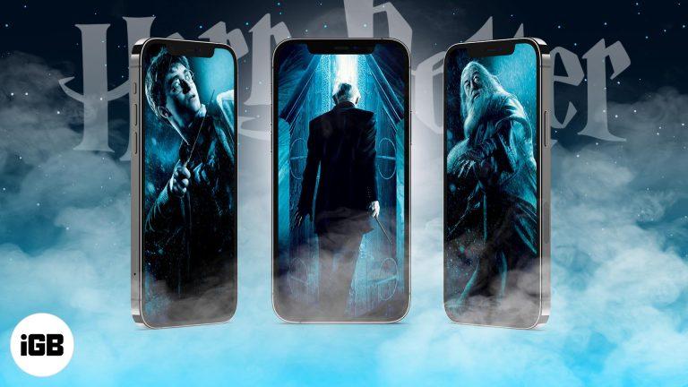 20 обоев Гарри Поттер для iPhone в 2021 году (скачать бесплатно в HD)