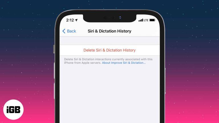 Как удалить данные Siri из iCloud на iPhone и iPad