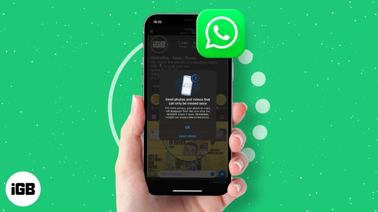 Как отправить исчезающие фото и видео в WhatsApp на iPhone и Android