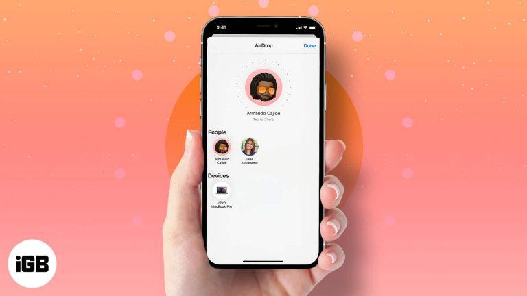 Как поделиться фотографиями или видео в оригинальном качестве с помощью AirDrop на iPhone