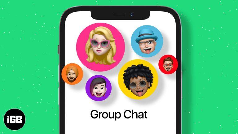 Как использовать групповой чат iMessage на iPhone и iPad