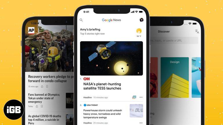 Лучшие новостные приложения для iPhone и iPad в 2021 году