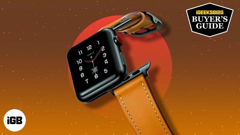 10 лучших кожаных ремешков Apple Watch в 2021 году