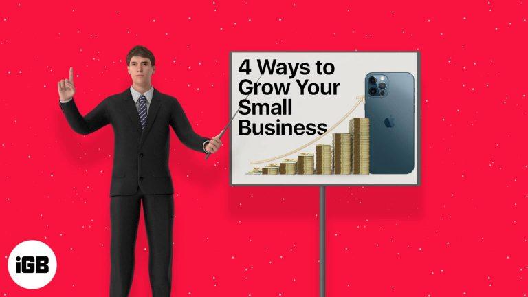 4 способа использования смартфона для развития малого бизнеса