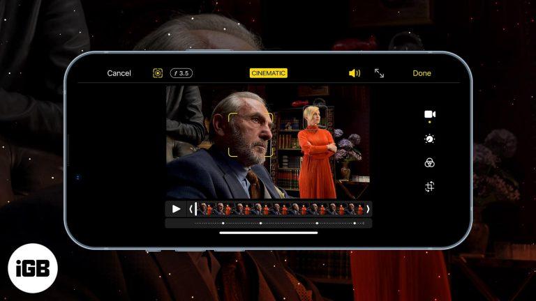 Кинематографический режим Apple на iPhone 13: что это такое и как им пользоваться