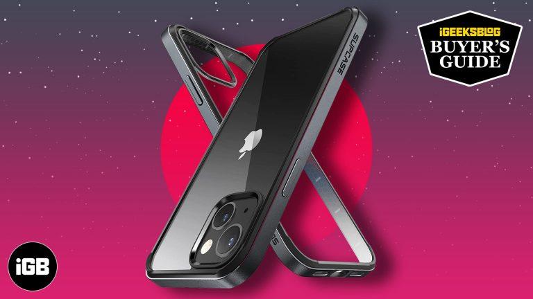 Лучшие чехлы-бамперы для iPhone 13 и iPhone 13 Pro в 2021 году