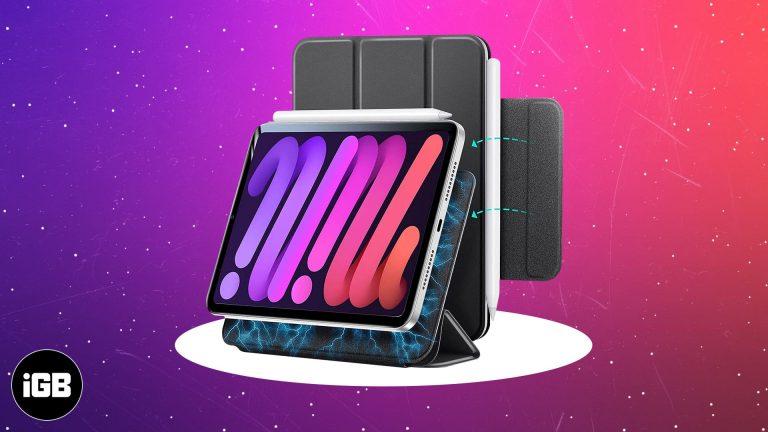 5 лучших чехлов для iPad mini 6 в 2021 году