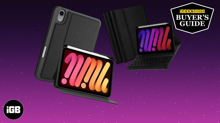 Лучшие чехлы-клавиатуры для iPad mini 6 в 2021 году
