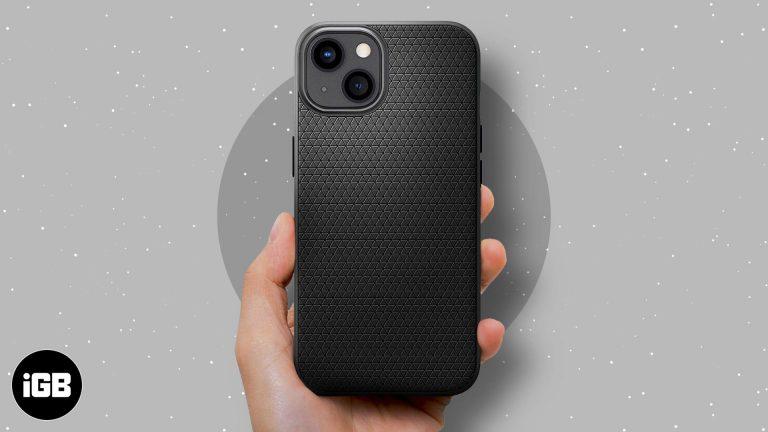 5 лучших чехлов для iPhone 13 mini в 2021 году
