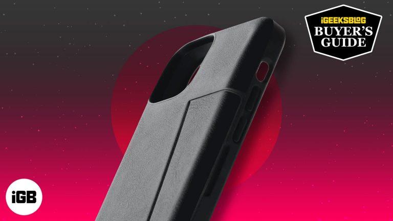 Лучшие чехлы-кошельки для iPhone 13 mini в 2021 году