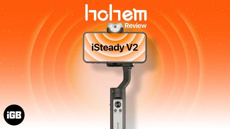 Hohem iSteady V2 для смартфонов: умный карданный подвес, способный на все!
