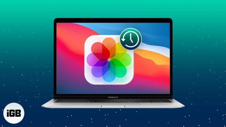 Как восстановить удаленные фотографии на Mac
