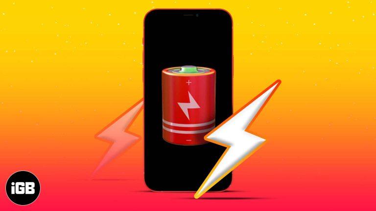 Аккумулятор iPhone разряжен за ночь?  12 способов исправить это