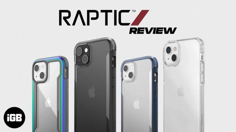 Чехлы Raptic для iPhone 13 серии: что вам подойдет?