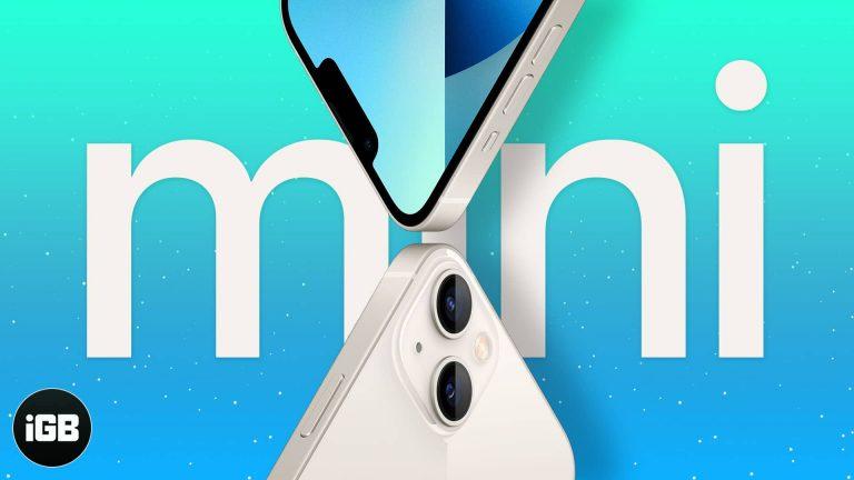 Почему iPhone 13 mini — лучший iPhone 2021 года?