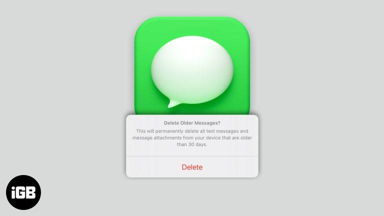 iOS 15: как автоматически удалять старые сообщения на iPhone или iPad