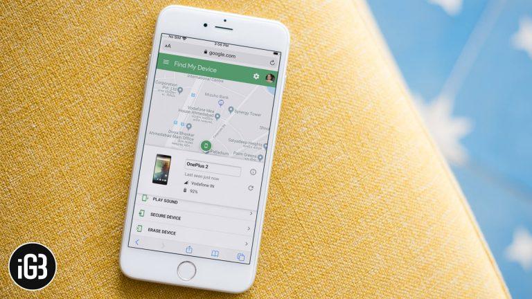 Как отслеживать телефон Android с iPhone в 2021 году
