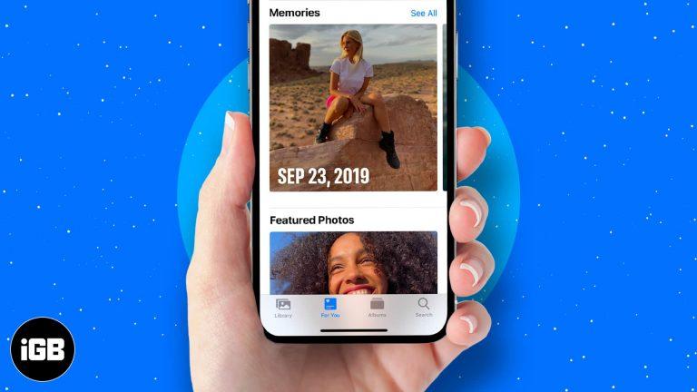 Как использовать функцию воспоминаний в фотографиях на iPhone и iPad