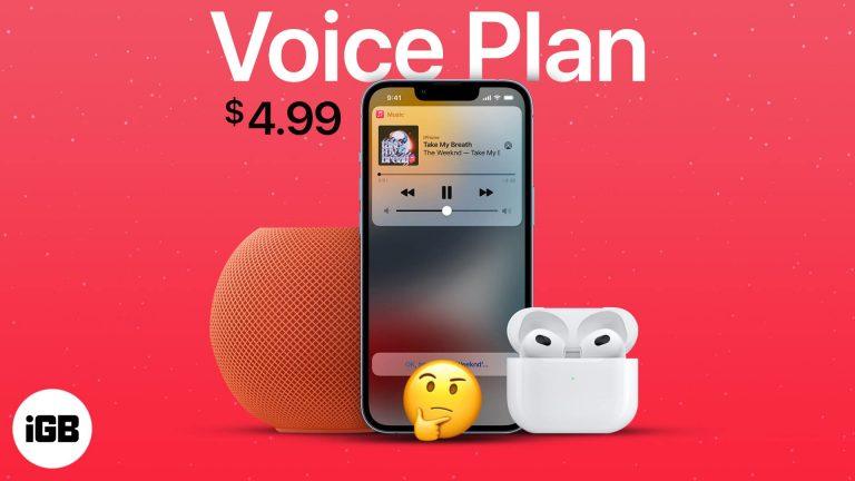 План Apple Music Voice: стоит ли это ваших 5 долларов в месяц?
