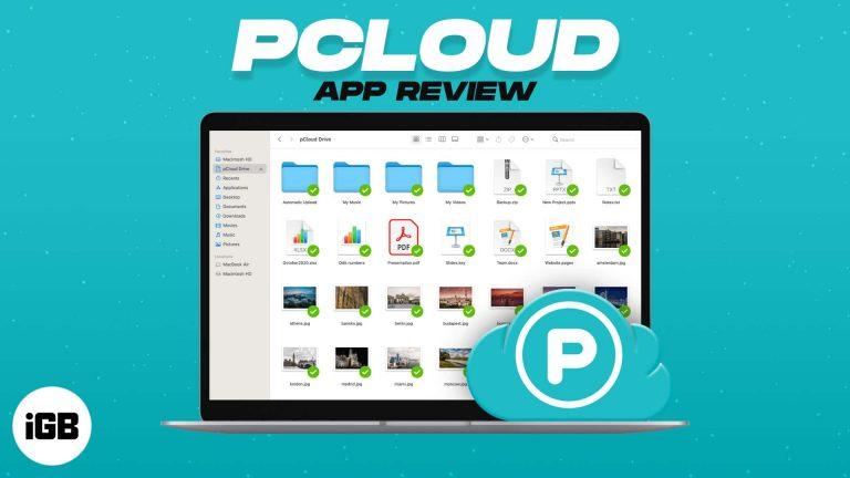 pCloud Storage: храните и управляйте файлами на вашем ноутбуке и iPhone