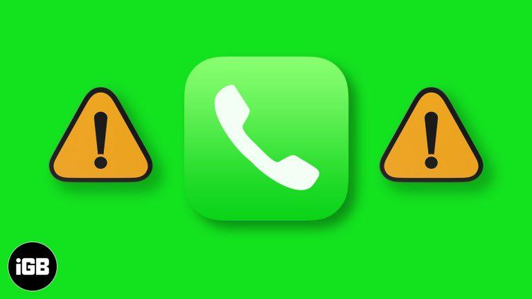 iOS 15: приложение «Телефон» не работает на iPhone?  Как это исправить